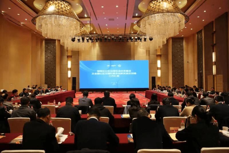 中国社区发展协会专家齐聚一堂,